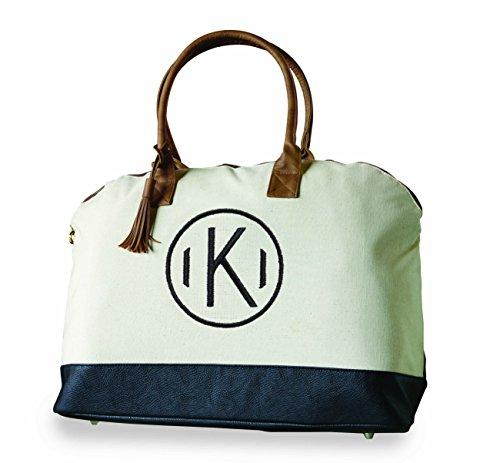 Mud Pie Chelsea Weekender Bag, K (Mud Pie Weekender Bag compare prices)
