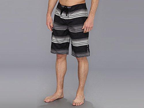 O'Neill Men's Santa Cruz Stripe Boardshort, Black, 31 image