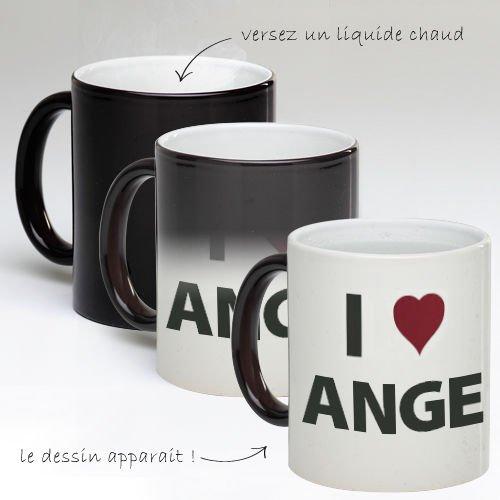 Tasse Mug Magique Personnalise I Love Ange