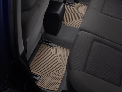 WeatherTech All-Weather Trim to Fit Rear Rubber Mats (Tan) (2006 Cayenne Weathertech compare prices)