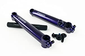 Mission Components Transit Crank, Purple, 175mm by Mission Components