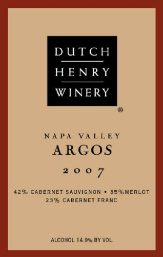 2007 Argos Red Blend 750 Ml