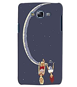 Citydreamz Boy and Girl/Moon/Love Hard Polycarbonate Designer Back Case Cover For Samsung Galaxy Grand I9082