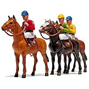 HORSE AND JOCKEY CENTERPIECE DECORATION