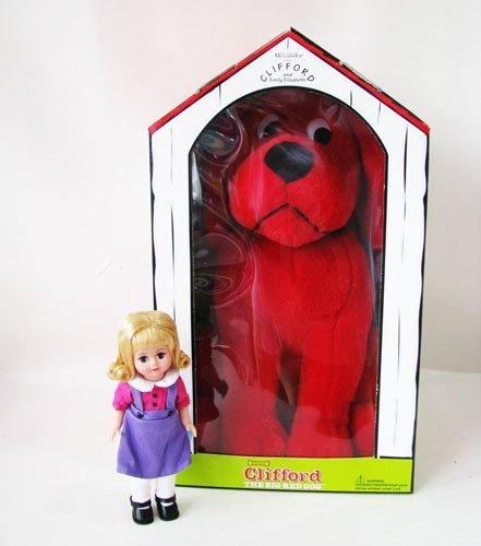 """Madame Alexander- Emily Elizabeth & 16"""" Clifford Big Red Dog Set front-204220"""