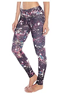 WITH Women's Leggings Paint Dots