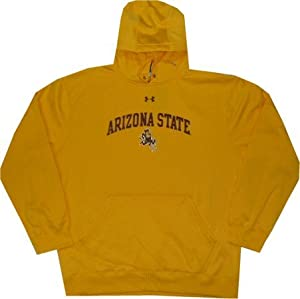 Arizona State Sun Devils Under Armour Hooded Sweatshirt by Under Armour