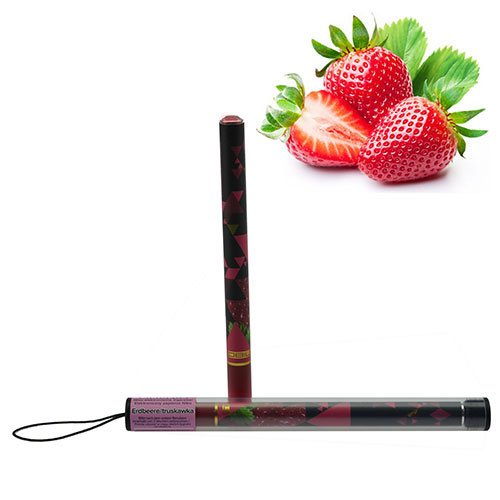 E Shisha 800 Züge Diamond Erdbeere extra Dampf & Geschmack Hookah Wasser Pfeife
