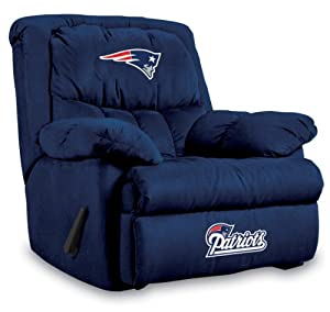 NFL New England Patriots Home Team Microfiber Recliner by Imperial