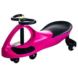 Lil Rider Lil' Rider Wiggle Car Ride On, Hot Pink