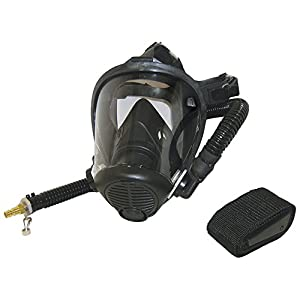 SAS Safety 9814-04 Opti-Fit Supplied-Air Fullface Respirator, Small