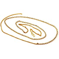 Nainath Gold Plated Single Line Kamarbandh/Belly Chain For Women/Girls