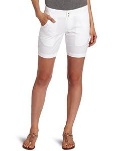Columbia Women's Super Bonehead 10-Inch Short, 4, White, Neon Light