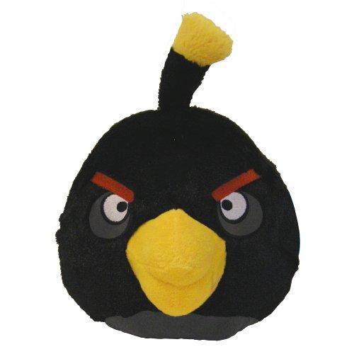 """Imagen de Angry Birds 12 """"Pájaro Negro de peluche con sonido"""