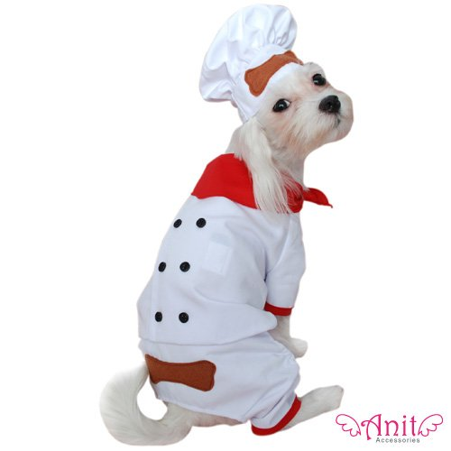Dog Costume - Pet Chef Baker Halloween Apparel