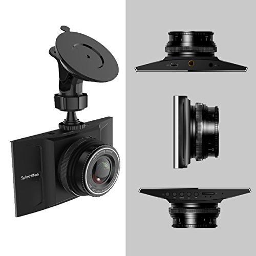 splashetech fx50d dual lens ultrathin 4 screen dash cam 170 110 angle wdr super night. Black Bedroom Furniture Sets. Home Design Ideas