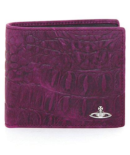 Vivienne Westwood Man Uomo Portafoglio in pelle Amazon Purple Unica Taglia