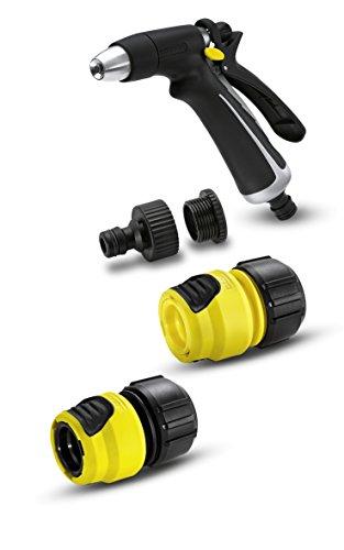 Kärcher 2.645-110.0 Set Idropistola in Metallo-Plastica a Spruzzo e Raccordi Plus