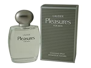 Pleasures By Estee Lauder For Men. Cologne Spray 3.4 Ounces