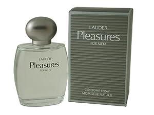 Pleasures By Estee Lauder For Men. Cologne Spray 3.4 Ounces