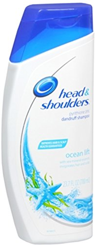Head & Shoulders Ocean Lift Dandruff Shampoo, 23.7 Fluid ounce (Pack of 2) (Head Shoulders Volume compare prices)