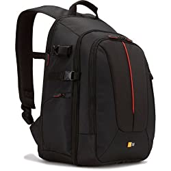 Case Logic Black Slr Camera And 14-Inch To 15-Inch Laptop Backpack