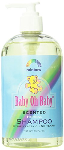 Rainbow Research Scented Organic Herbal Shampoo, 16 Fluid Ounce - 1
