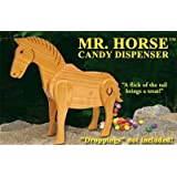 Mr. Horse Wooden Candy Dispenser Funny Toy - Poops Candy!