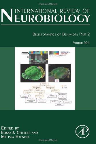 Bioinformatics of Behavior: Part 2, Volume 104 (International Review of Neurobiology)
