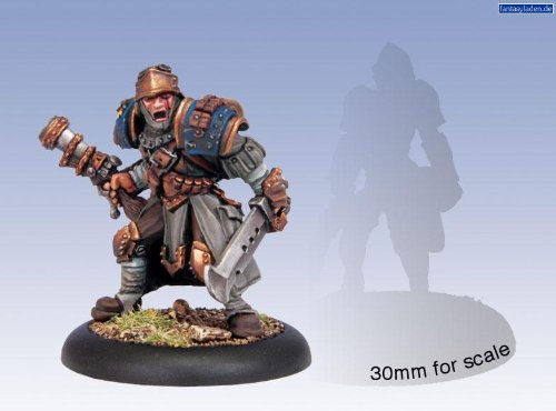 Privateer Press Warmachine: Cygnar Solo Trencher Master Gunner Model Kit