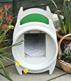KatKabin Outdoor Cat House - Racing Green : Color RACING GREEN