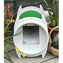 Katkabin Outdoor Cat House- Forest Green : Color Forest Green