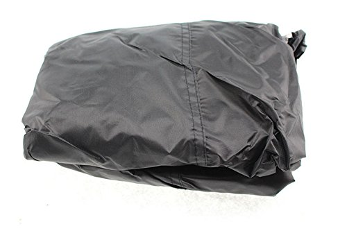 FEIFEI Unisex 170 cm Waterproof BBQ Cover For Gas Charcoal Electric Barbeque Grill L:170cm W:61cm H:117cmBlack