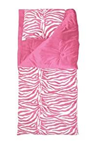 Thro ltd zebra animal collection microluxe 60 by 65 sleeping bag with