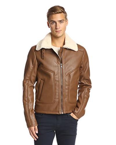 Sean John Men's Hipster Faux Sherpa Jacket