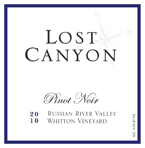 2010 Lost Canyon Whitton Vineyard Russian River Valley Pinot Noir 750Ml