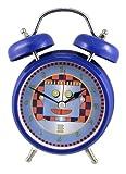 Robot Tech Alarm Clock Blue