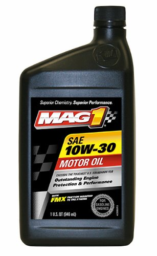 Mag 1 61648 6pk 10w 30 api sngf 5 ec motor oil 1 quart for 5 30 motor oil