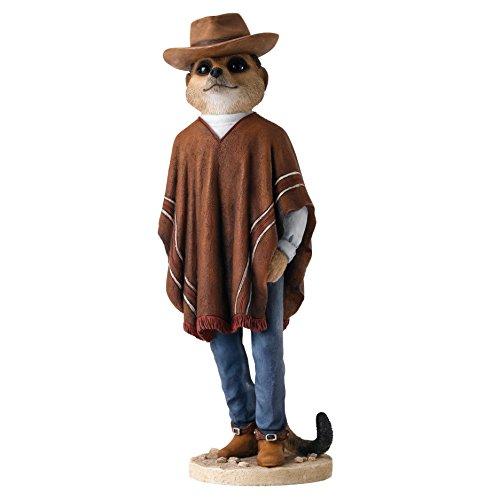 """Enesco-Statuetta Il Magnifico Meerkats """"Cowboy"""""""