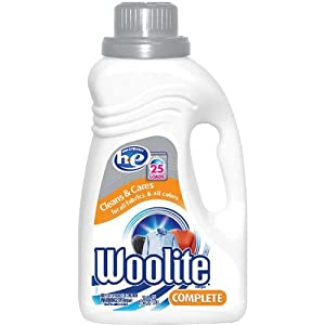 Woolite Complete High Efficiency Fabric Care Detergent ,25 Loads 50 fl