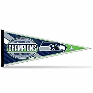 NFL 2014 Super Bowl XLVIII Champion 12x30-Inch Pennant