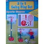 2 IN 1 SWING TENNIS & FOOTBALL PLAYSET