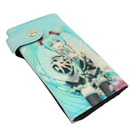 Sexy Hatsune Miku Vocaloid Anime Money Long Purse Wallet C. (1075167)