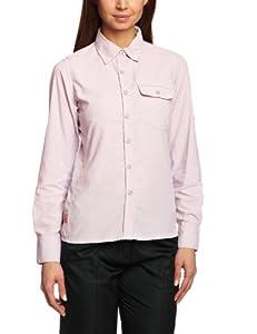 Craghoppers Damen Bluse Nosi Life Darla II Long Sleeve Shirt, Pale Lilac, 8, CWS378 1Y1