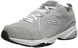 New Balance Men\'s MX608V4 Training Shoe, Grey, 13 4E US