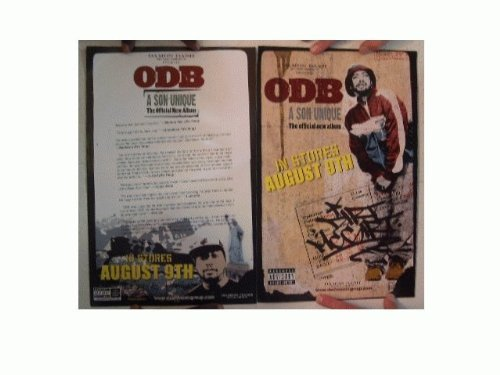 Odb Poster The Son Unique Two Sided Ol' Dirty Bastard Ol