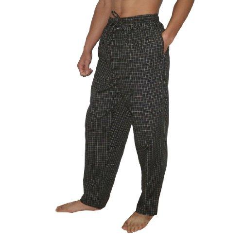 Mens Joe Boxer Plaid Cotton Sleepwear / Pajama Pants