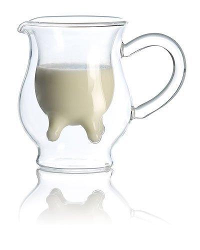 Cucina di Modena Doppelwandiges Milchkännchen mit witzigem Euterdesign