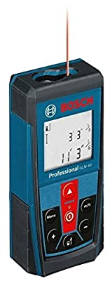 Bosch 135 Foot Laser Distance Measurer GLM 40