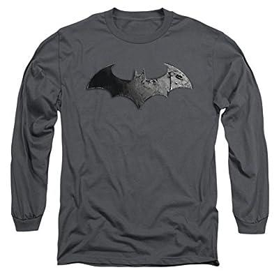 Batman Arkham City Bat Logo Long Sleeve T-Shirt